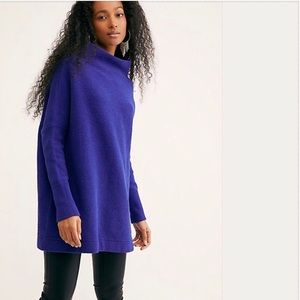 Cobalt Free People Slouchy Tunic